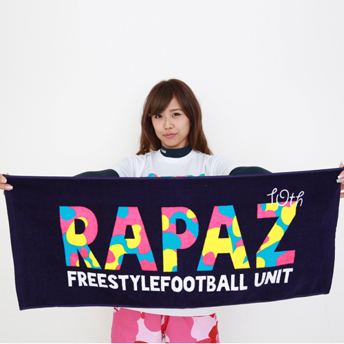 RAPAZ結成10周年記念タオル